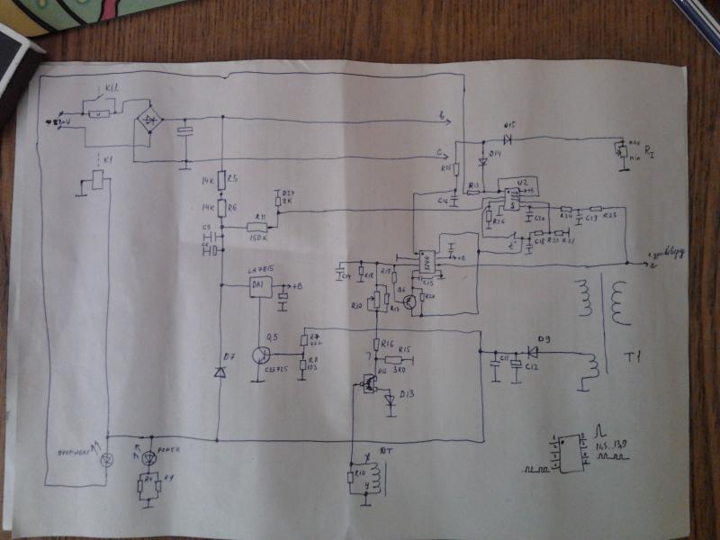 Схема сварочного инвертора kaiser nbc 250